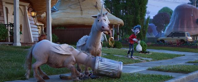 Onward unicorns digging through trash
