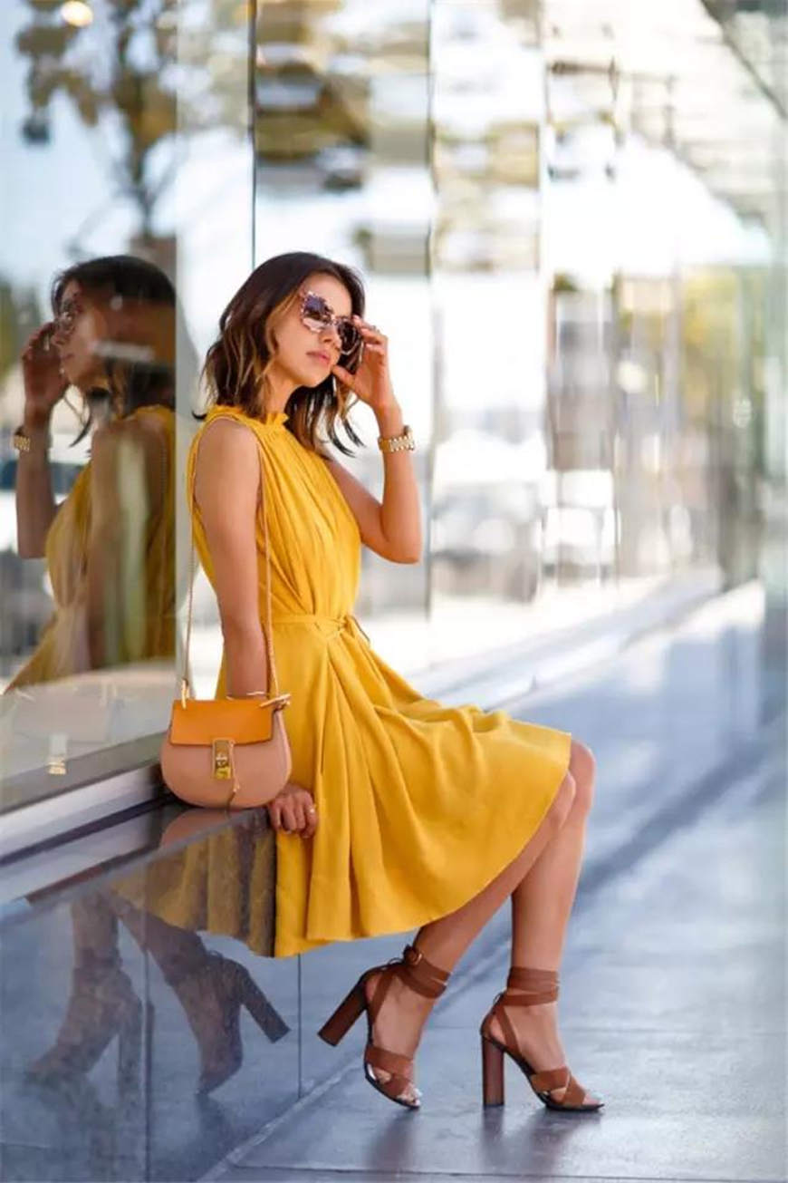 YELLOW FASHION TREND
