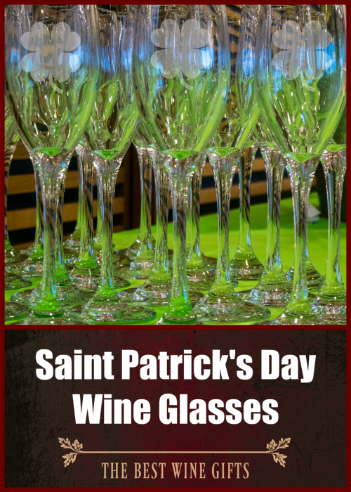 St. Patrick's Day Wine Glasses Accessories