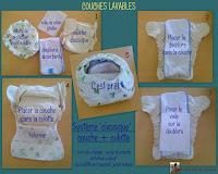 couche lavable classique insert culotte protection
