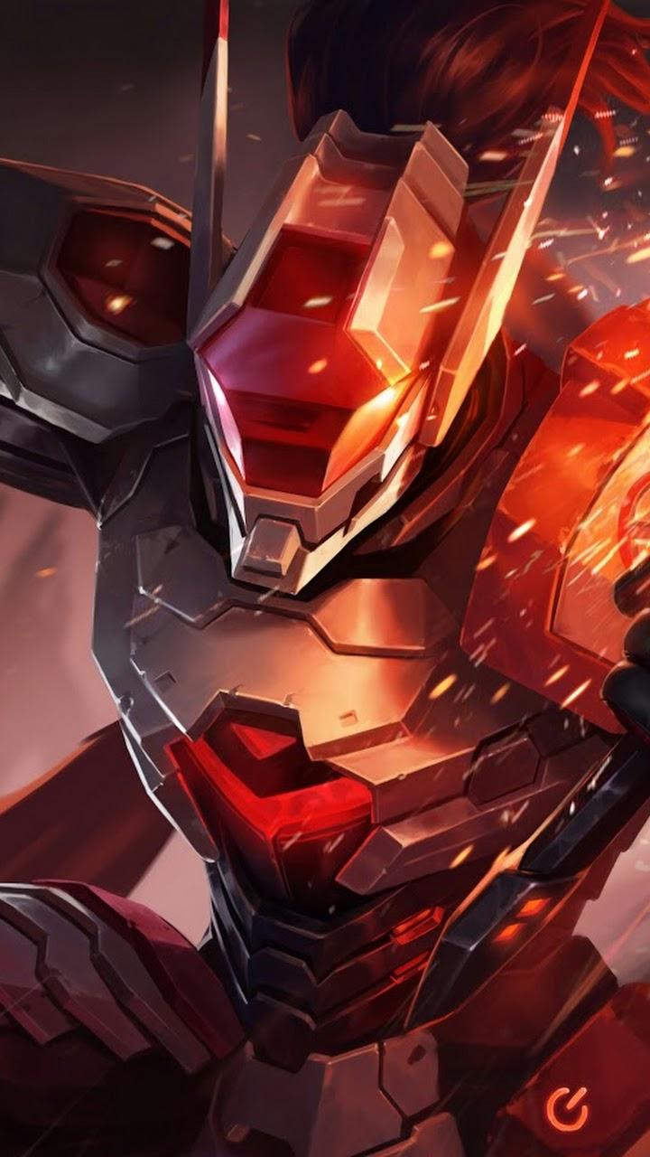 Wallpaper Saber Fullmetal Ronin Skin Mobile Legends HD for Mobile