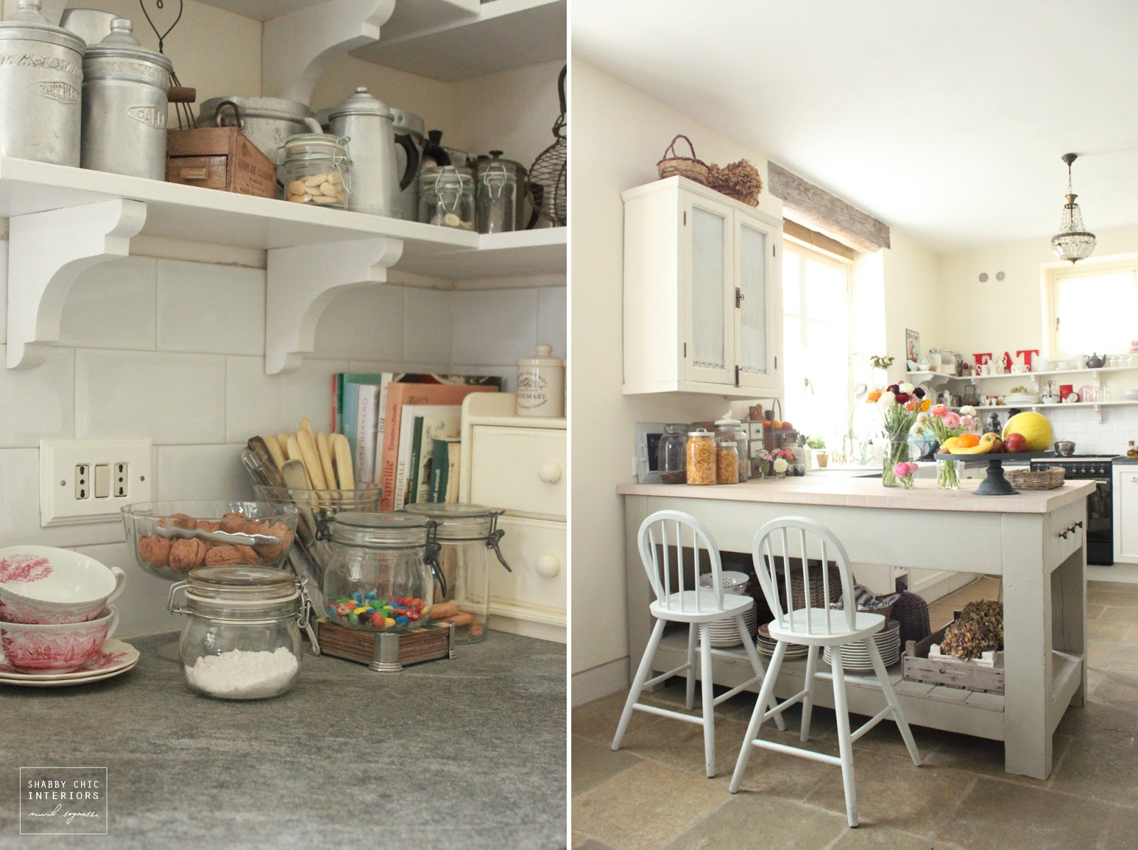 Cucina shabby piastrelle pavimenti legno shabby pavimenti legno