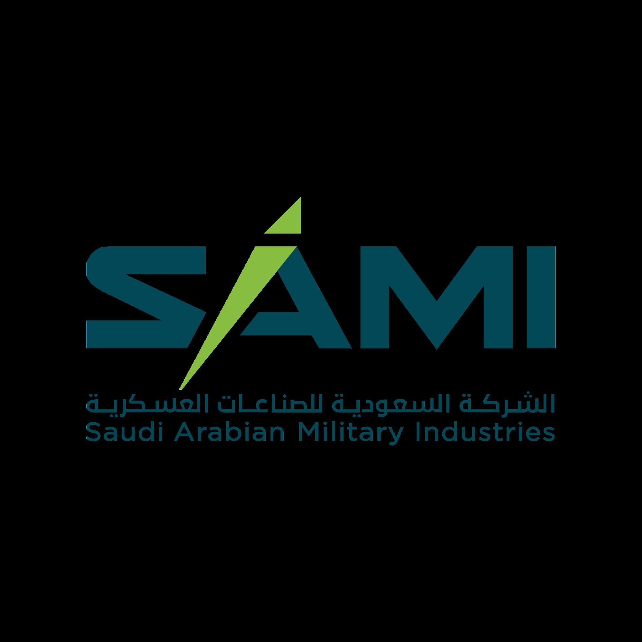 تحميل شعار الشركة السعودية للصناعات العسكرية لوجو شفاف عالي الدقة بصيغة شفافة Logo SAMI PNG