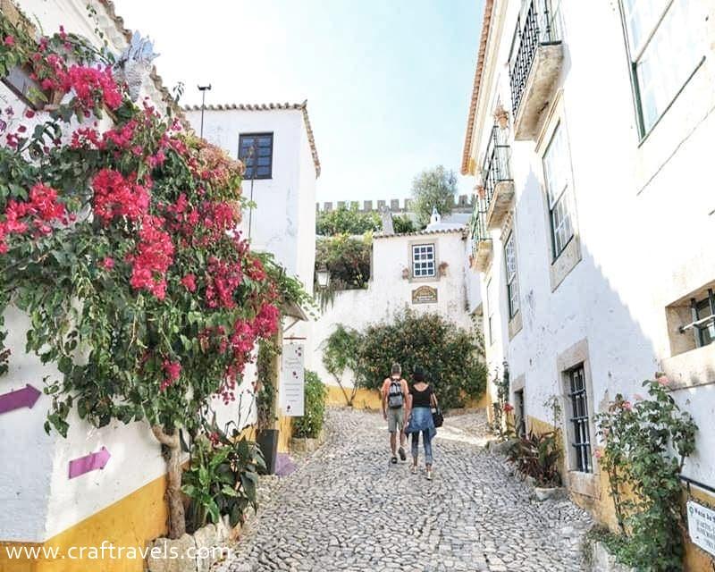 ciekawe miejsca do zwiedzenia w Portugalii, co zobaczyć w Portugalii, co zobaczysz w Obidos, Portugalia