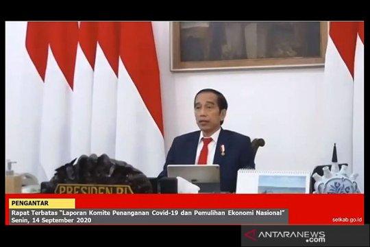 Jokowi Ingatkan Masih Ada 2 Minggu Selamatkan Ekonomi dari Resesi