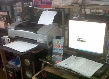 Posisi Printer