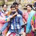 भाजपा महिला मोर्चा ने कैम्प लगाकर बांटे मास्क