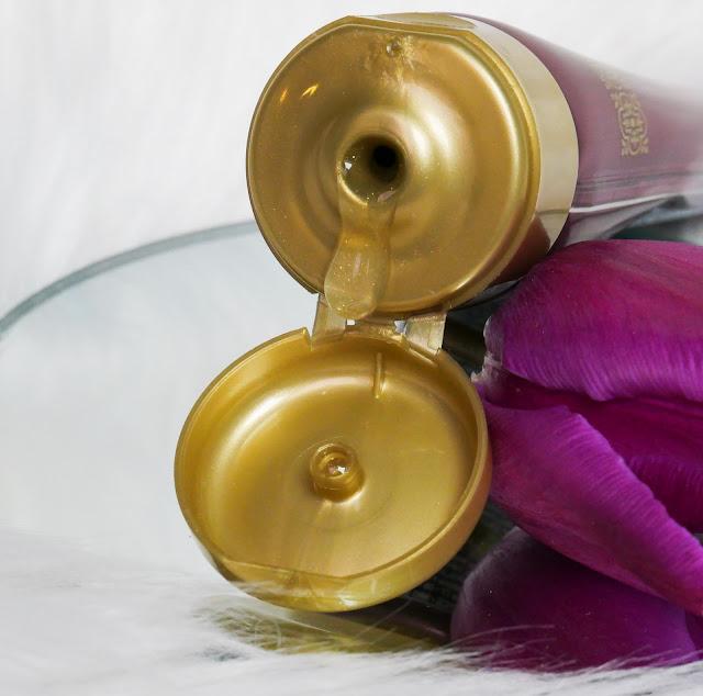maseczka do pielęgnacji twarzy peel-of z drobinkami złota