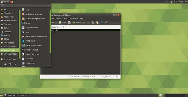 Jenis Desktop Environment Linux Teringan Sampai Terbagus Mate