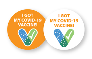 i got my vaccine stickers