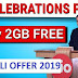 Jio Holi Offer 2019 - Get Free Jio Internet Up to 10GB Celebration Pack