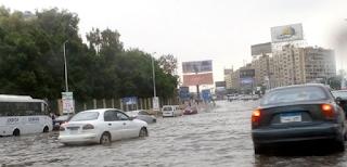 الأرصاد الجوية غدًا سقوط أمطار على القاهرة.. وعاصفة التنين مش هتتكرر تاني