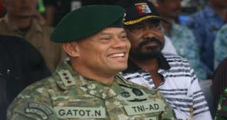 TNI MARAH, Australia Langsung Surati Panglima Jenderal Gatot Nurmantyo