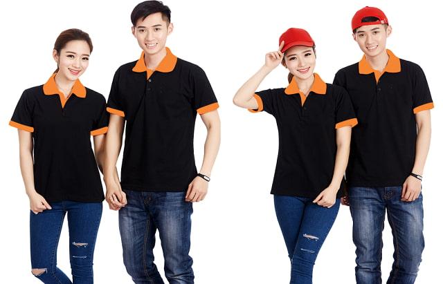Áo thun đồng phục đang ngày càng phổ biến