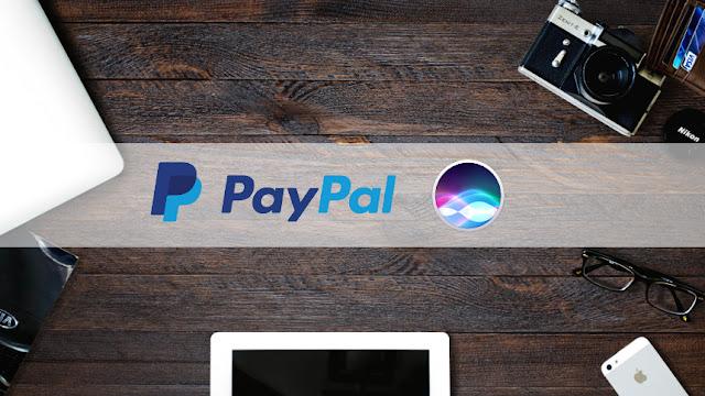 'Hey Siri, sende fünf Euro an Janice mit PayPal'
