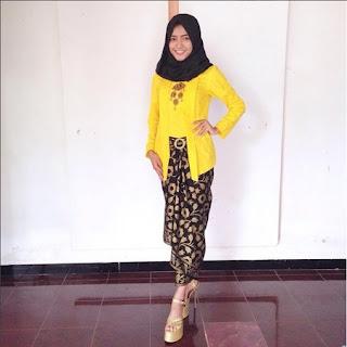 kebaya kutu baru untuk hijabers