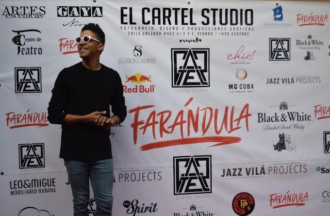 """Jazz Vilá contó en exclusiva que él no escribió """"Farándula"""" y que por eso no quiere presentarse más en Cuba"""