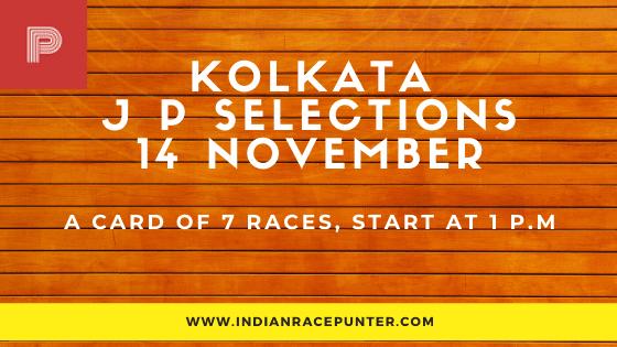 Kolkata Jackpot Selections 16 November
