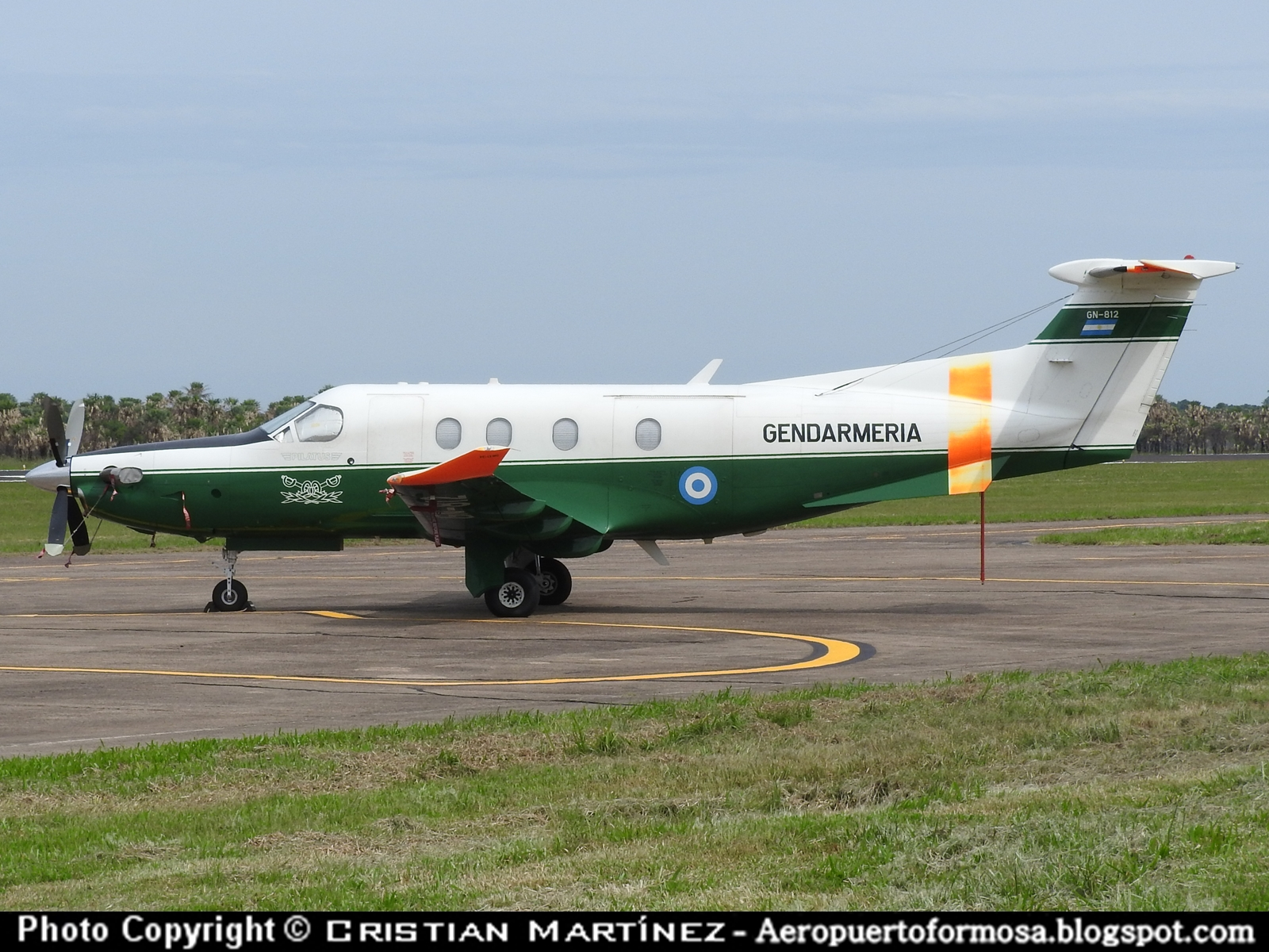 Aeropuerto Formosa Formosa Spotters Pilatus Pc 12ng Gn
