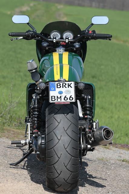 Triumph Rocket By Hammer Kraftrad Hell Kustom