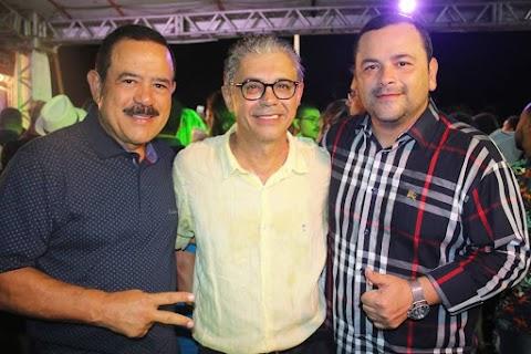 Deputado Vinicius Louro participa das comemorações de 58 anos de Lima Campos