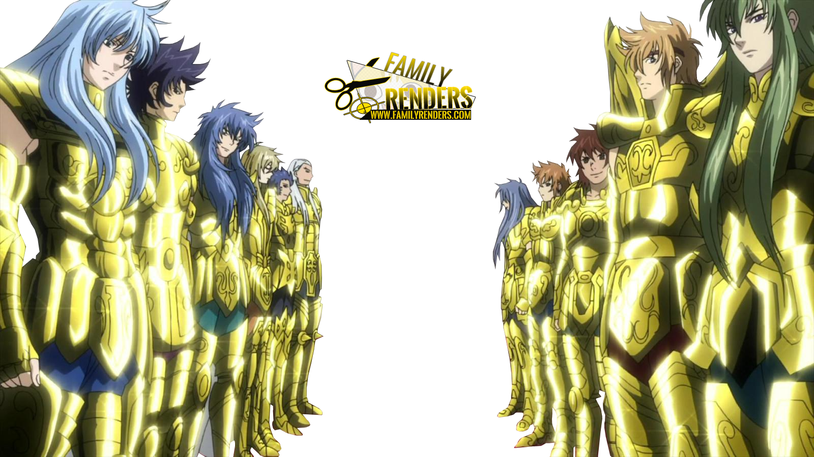RENDER Gold Saints