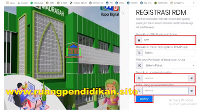 Registrasi RDM