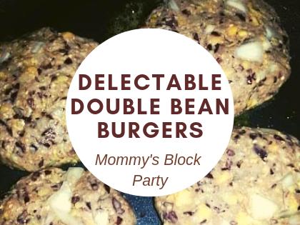 Delectable Double Bean Burgers