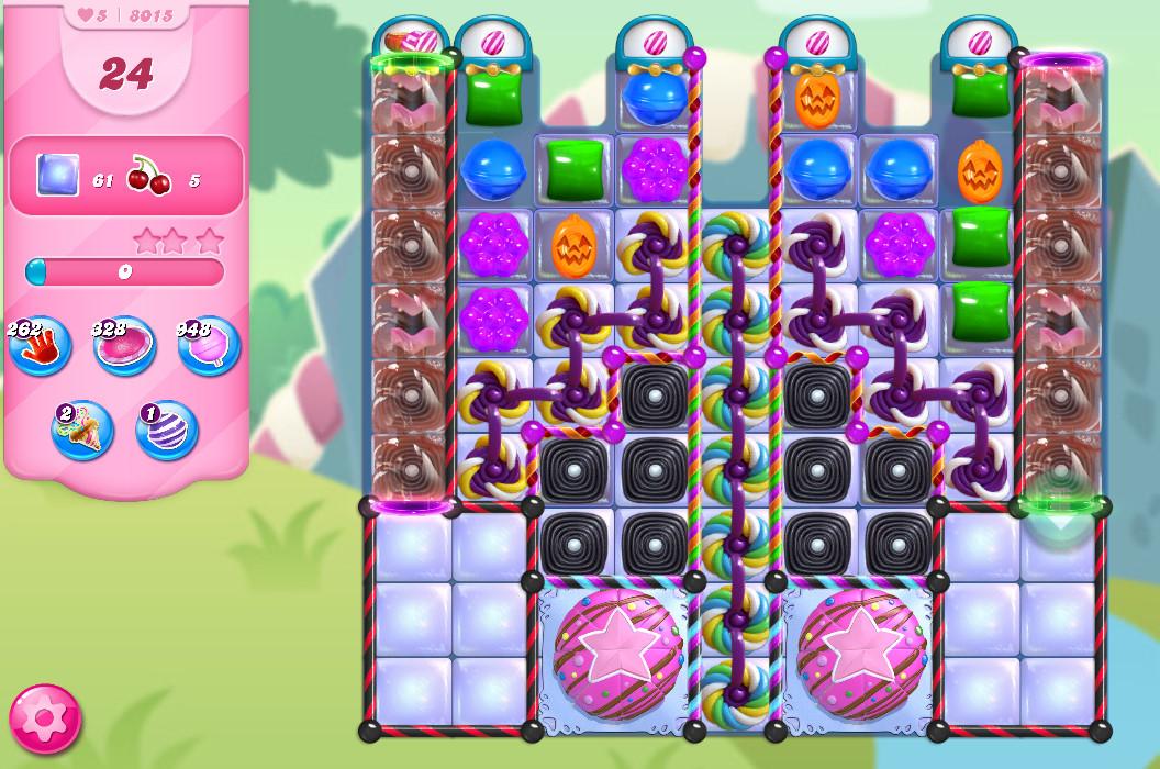 Candy Crush Saga level 8015