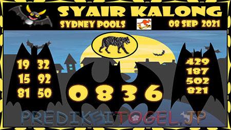 Prediksi Togel Kalong Sidney Rabu 08 September 2021