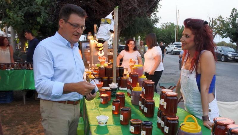 Έναρξη της 14ης Γιορτής Βιοκαλλιεργητών, Μελισσοκόμων και Οικοτεχνών Ν. Έβρου