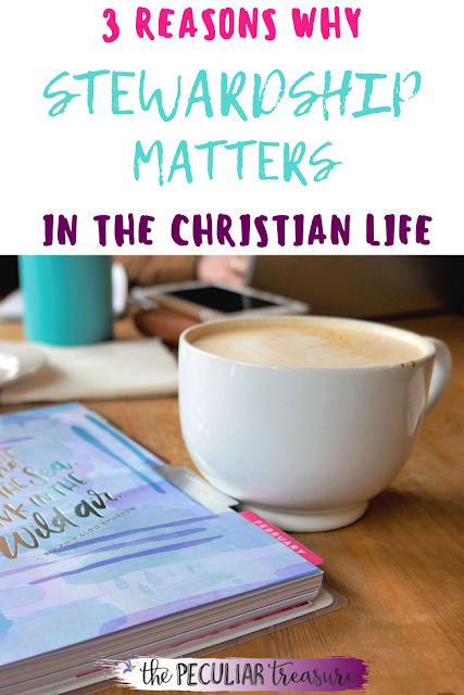 3 reasons why stewardship matters for Christians