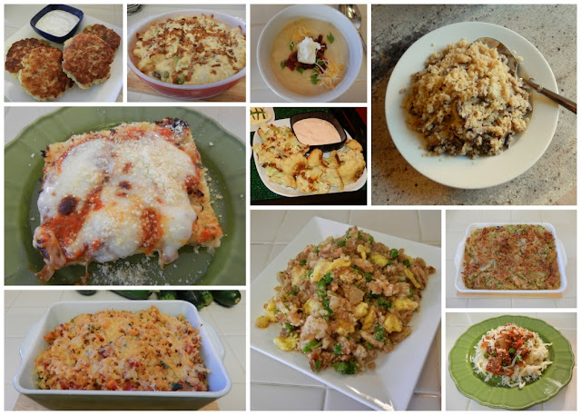 Eggface%2BCauliflower%2BCollage Weight Loss Recipes Eggface 2016   The Blog Year in Review