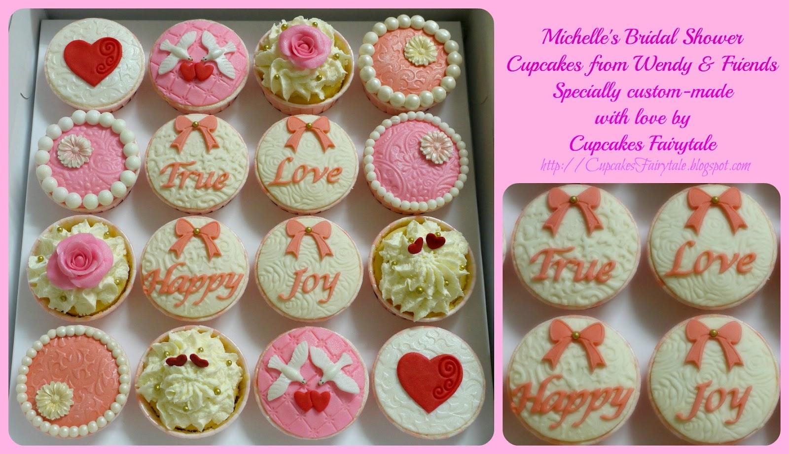 53bb708b9b4 Cupcakes Fairytale  MICHELLE S BRIDAL SHOWER CUPCAKES