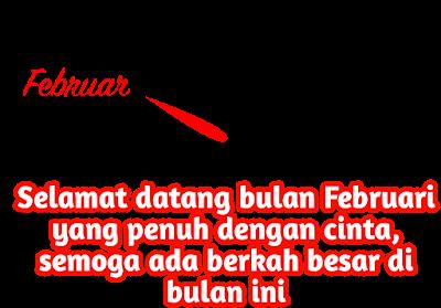 ucapan selamat datang bulan februari 2021