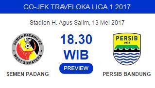 Prediksi Semen Padang vs Persib Bandung 13 Mei 2017