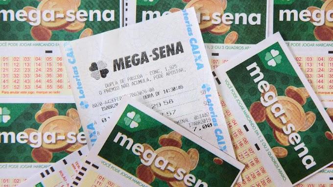 Mega-Sena acumula pela terceira vez seguida e prêmio deve chegar a R$ 34 mi