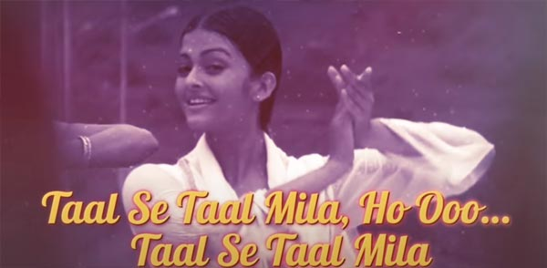Taal Se Taal Mila Lyrics - Taal (1999) - Alka Yagnik, Udit Narayan