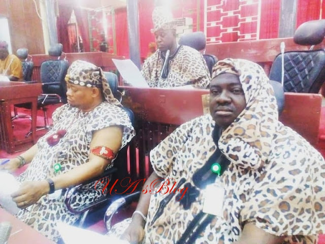 Oyo Lawmakers Wear Amotekun Outfits To Pass Bill (Photos)