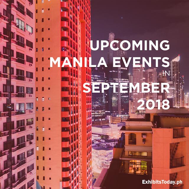 Upcoming Manila Events in September 2018