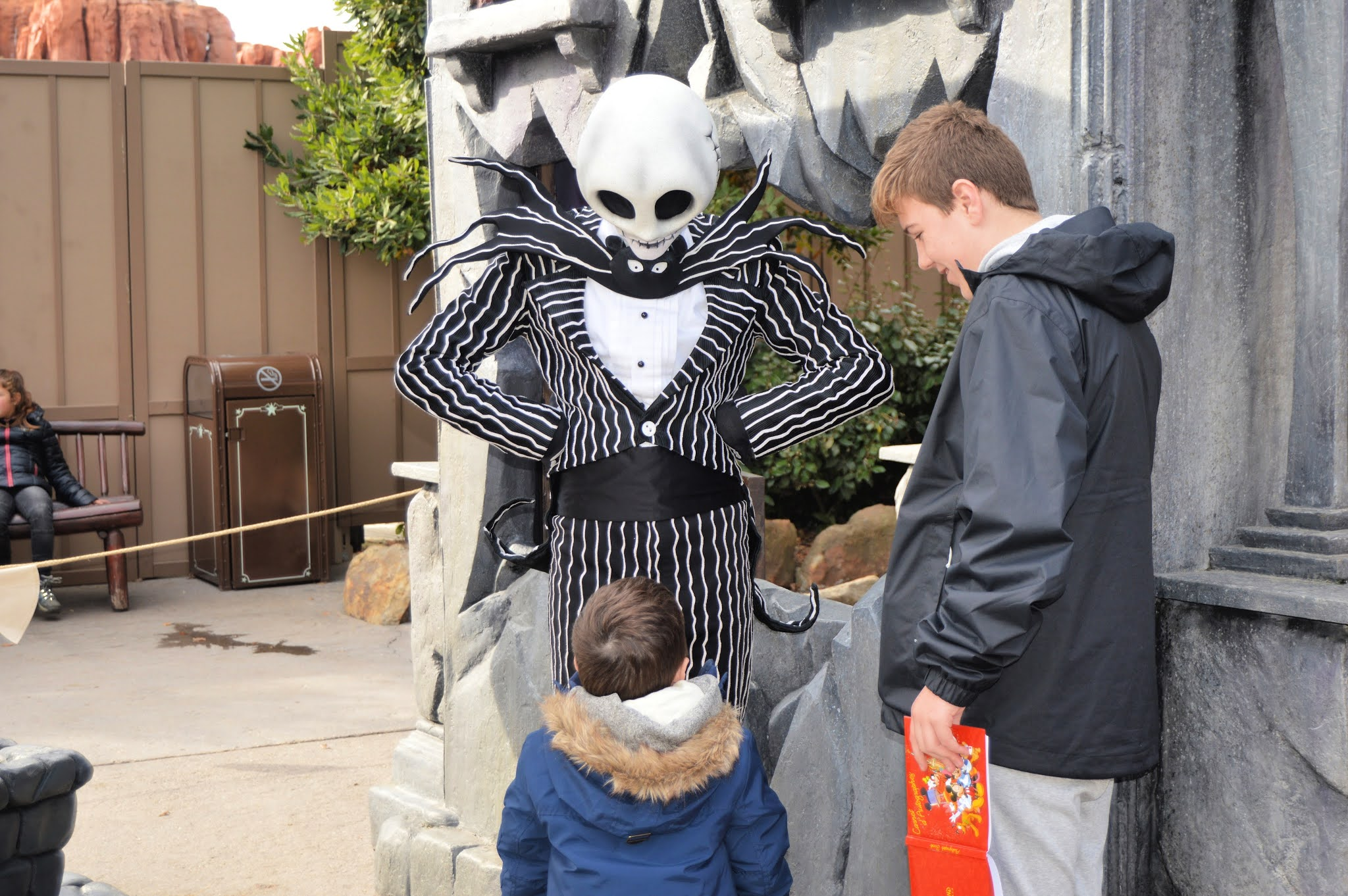 Jack Skellington at Disneyland Paris