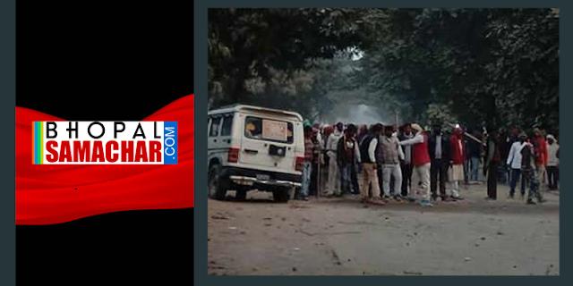 MODI की रैली से लौट रहे BJP नेताओं पर हमला, बचा रहे पुलिसकर्मी की मौत | NATIONAL NEWS