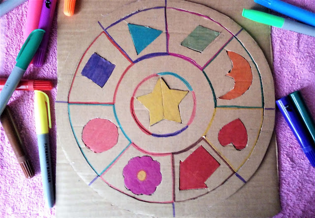 DIY dla dzieci: układanka geometryczna