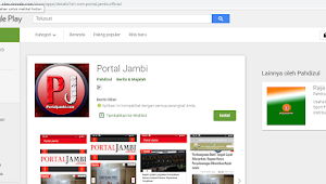 Baru !!  Download Aplikasi Portal Jambi di Google Playstore