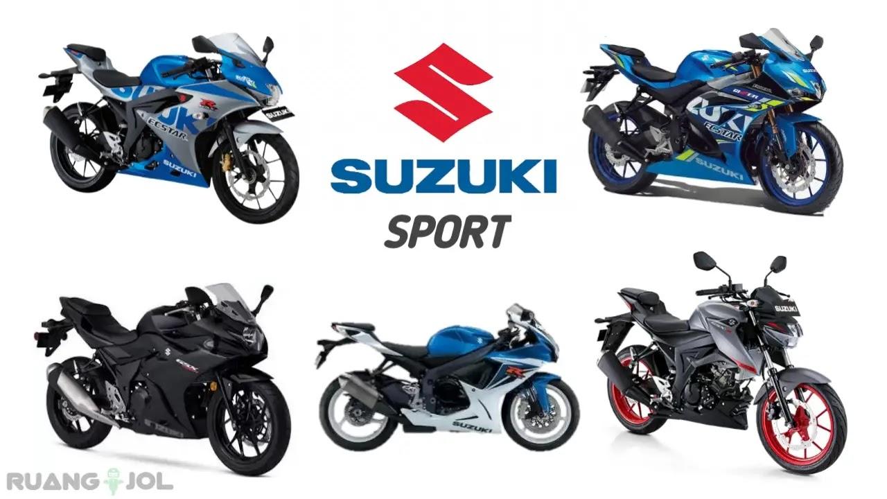 Daftar Pilihan Motor Sport Suzuki Terbaik Dan Terbaru 2021