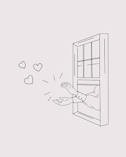 à la fenêtre, free pattern - Marion Romain
