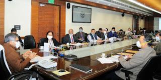 मुख्य सचिव की अध्यक्षता में राज्य स्तरीय समन्वय समिति की बैठक आयोजित
