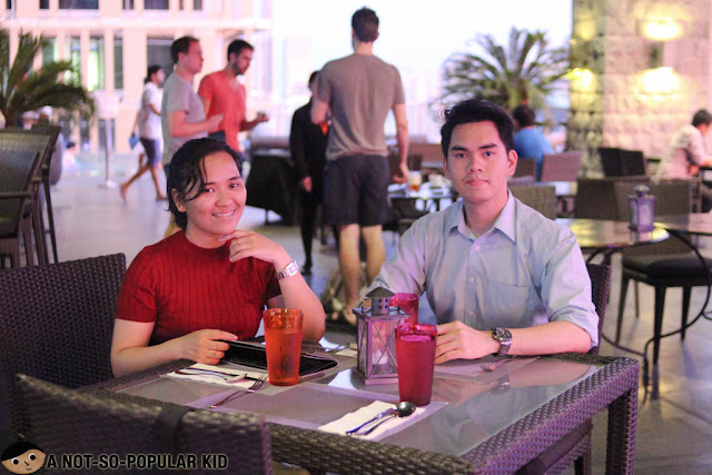 Jieza Varela and Gerone Tolentino in City Garden Grand Hotel