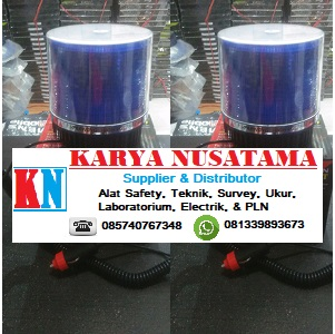 Jual Lampu Strobo Brilliant 9x Flash Warna Biru di Bekasi