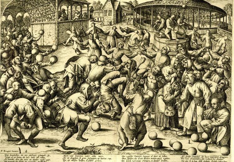 Resultado de imagen para baile de 1518